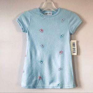 NWT Amy Byer Light Blue Kids Dress